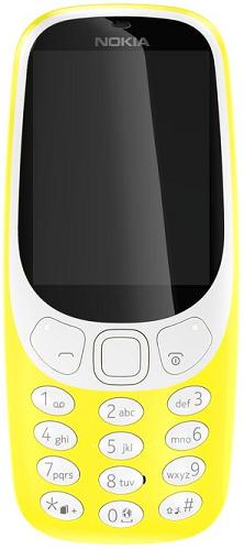 Nokia 3310 Dual SIM žlutý