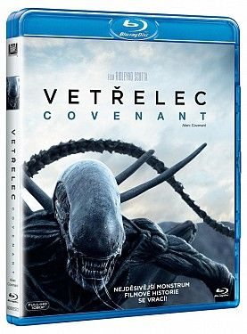 Vetřelec: Covenant - Blu-ray film