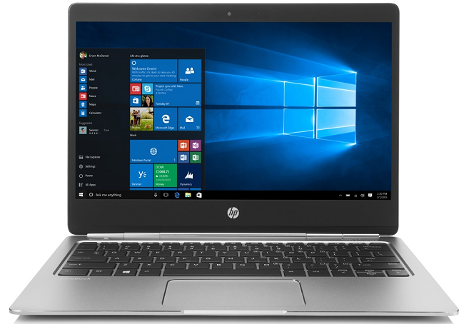 HP EliteBook Folio G1, V1C40EA stříbrný