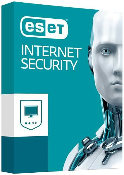 Eset Internet Security 2018 2 PC / 1 rok