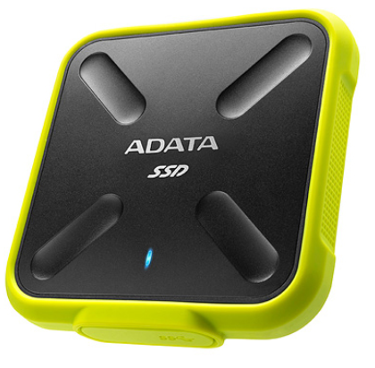 A-DATA SD700 256GB USB 3.1 žlutý