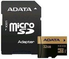 ADATA microSDHC XPG 32GB UHS-I U3 + adaptér