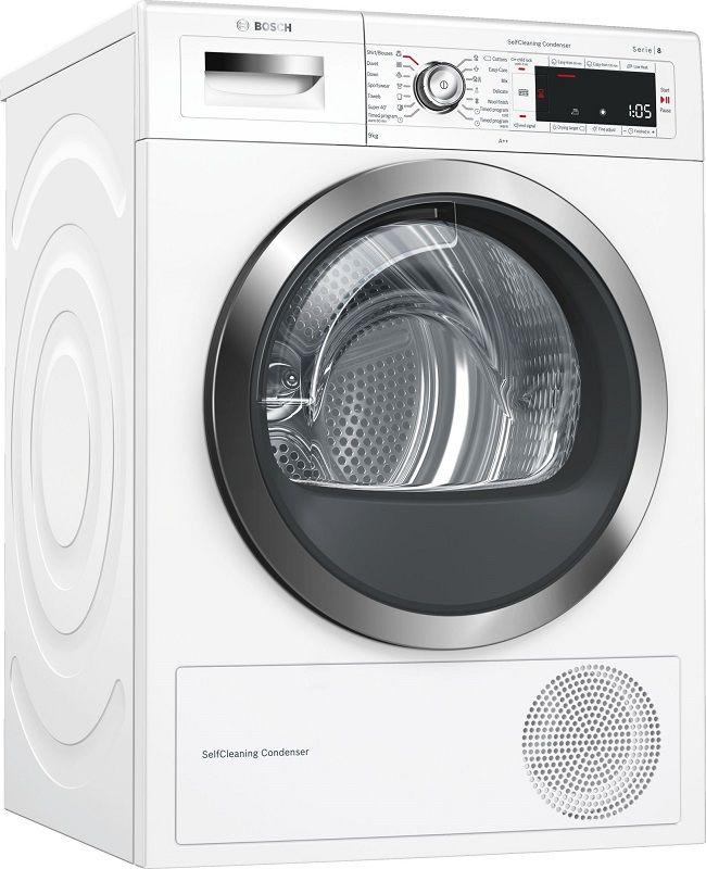 Bosch WTW85551BY bílá