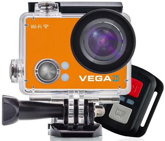 Niceboy VEGA 4K + dálkový ovladač oranžová