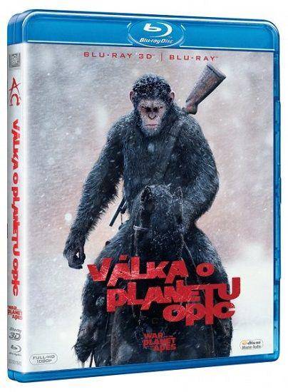 Válka o planetu opic - 3D Blu-ray film (3D + 2D)