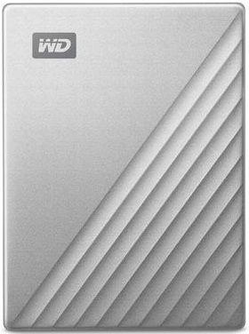 WD My Passport Ultra 2TB USB-C/USB 3.0 stříbrný