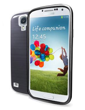 CELLY zadní kryt pro Galaxy S4, černé