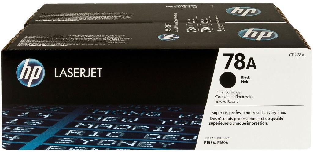 HP CE278AD black - toner