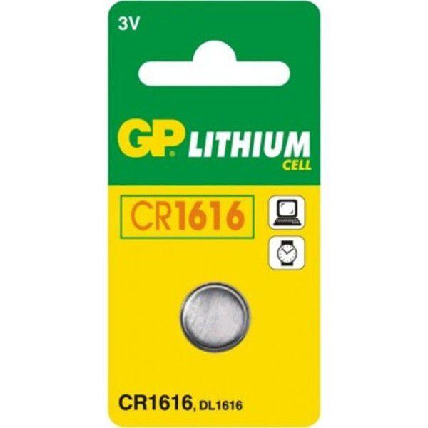 GP baterie CR1616 3V (1ks) - líthiová knoflíková baterie
