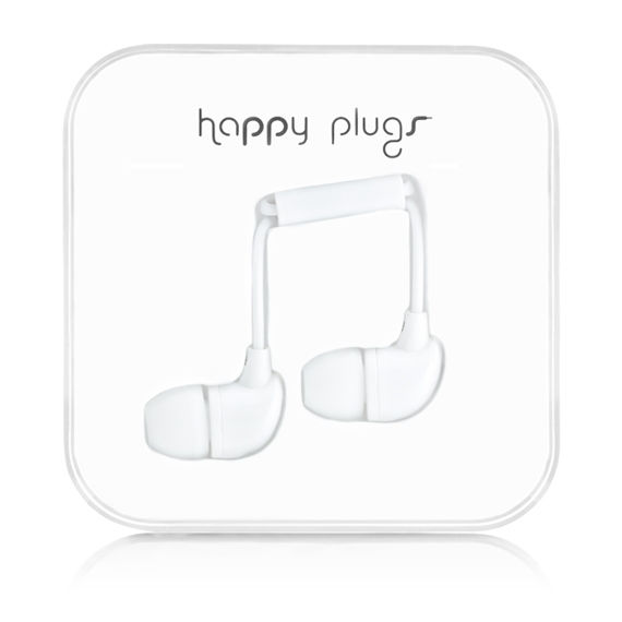 Happy Plugs In-Ear 7726 (bílá)
