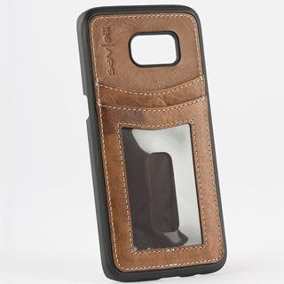 Savelli Brenta pouzdro pro Samsung Galaxy S7 edg (hnedé)