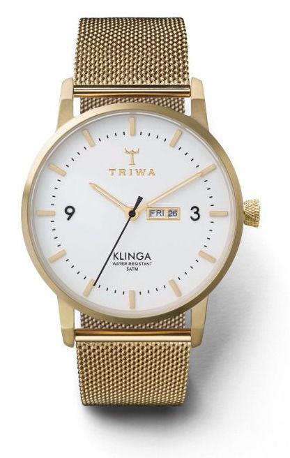 Triwa Ivory Klinga (zlatá)