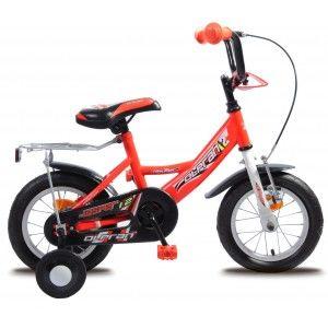 """Olpran Jasper 12"""", Dětské kolo, červená"""