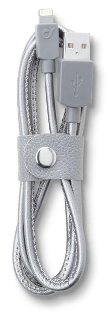 Cellular Line LongLife lightning kabel (leather)