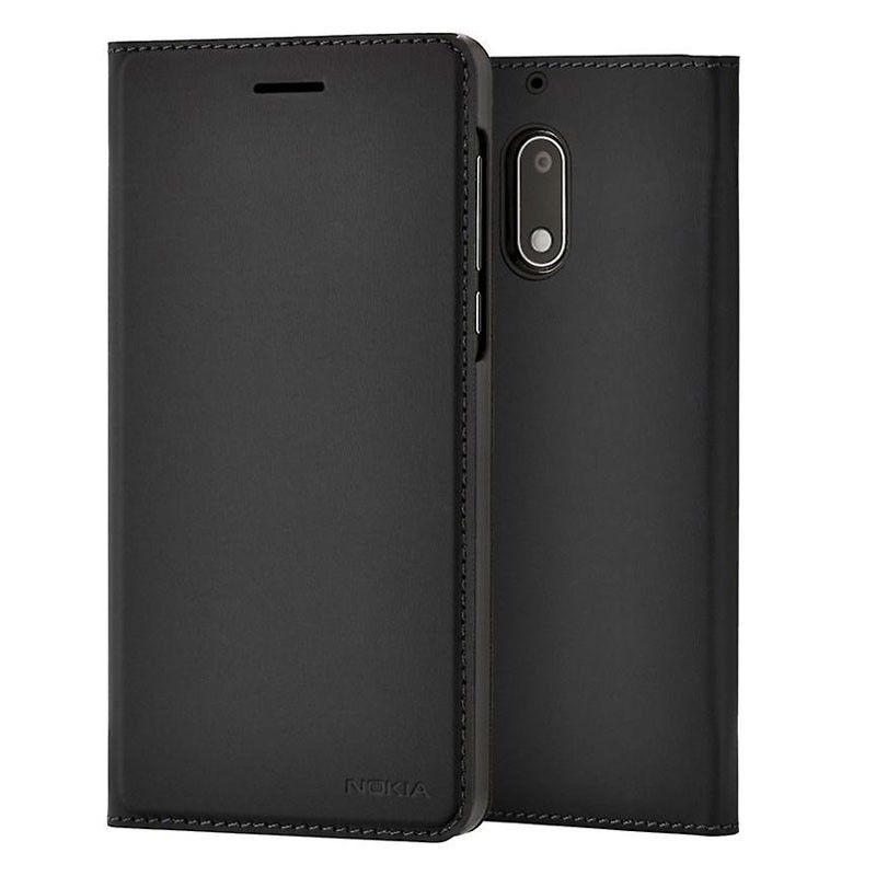 Nokia Slim knížkové pouzdro pro Nokia 6, černá