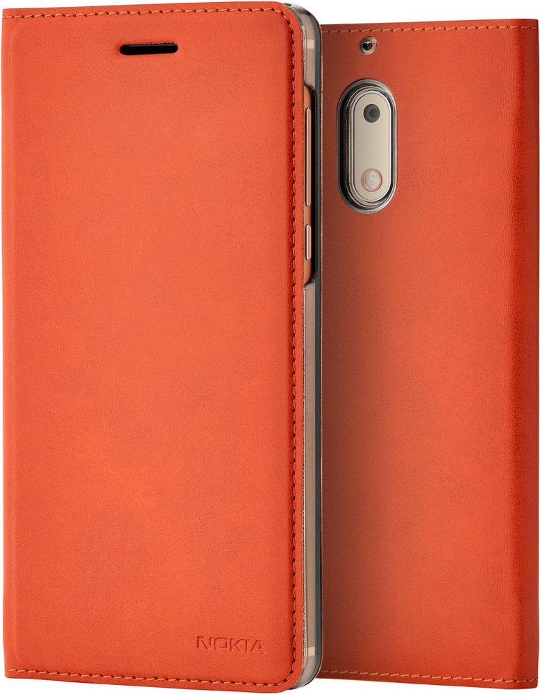 Nokia Slim knížkové pouzdro pro Nokia 5, hnědá