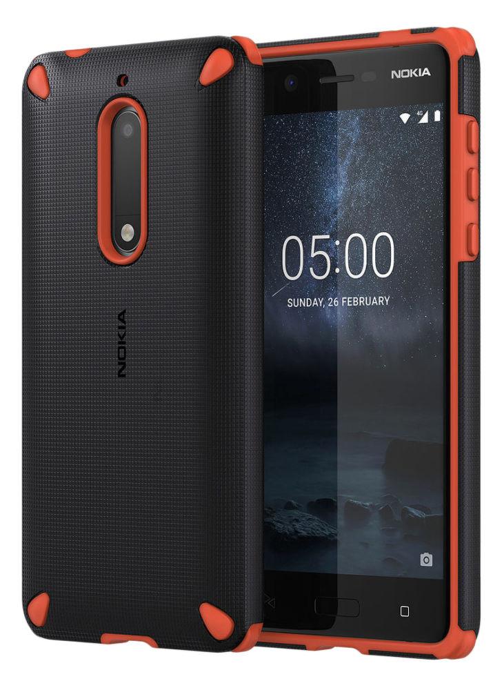 Nokia Rugged Impact Case pro Nokia 5, oranžovo černé