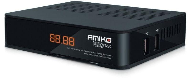 Amiko Neo T2/C + karta Plustelka