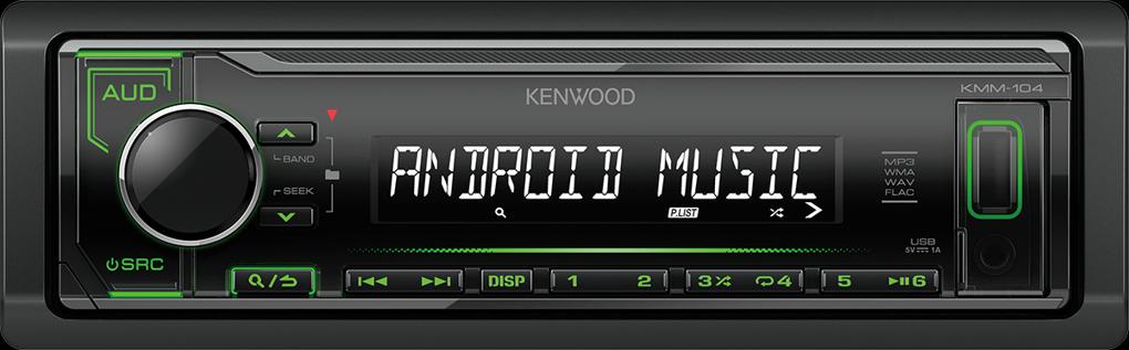 Kenwood KMM-104GY zelené