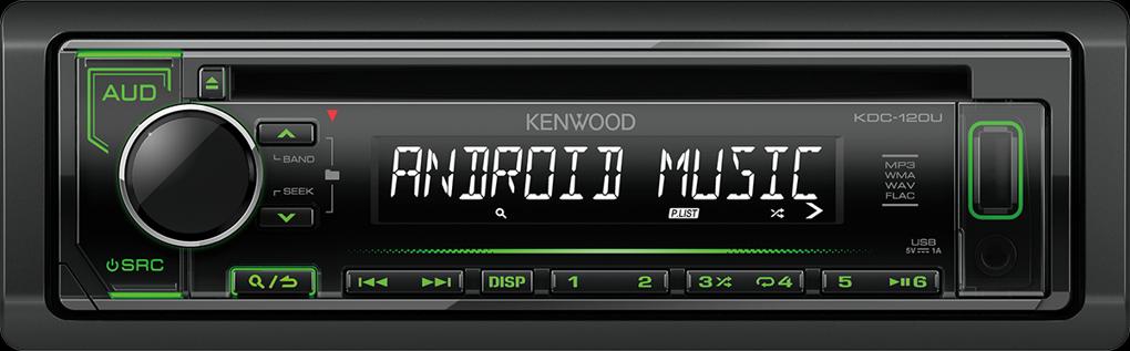 Kenwood KDC-120UG zelené