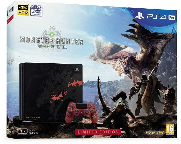 Sony PlayStation 4 Pro 1TB Monster Hunter World Limited Edition