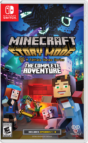 Minecraft Story Mode: Complete Adventure - Nintendo Switch