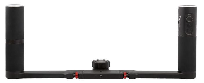 Feiyu Tech Double hand stabilizátor, černý