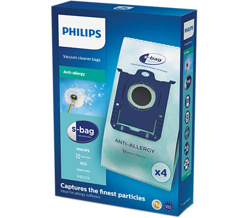 Philips FC8022/04 Anti-Allergy S-Bag sáčky do vysavače (4ks)