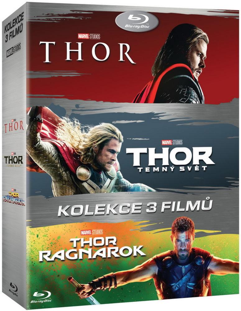 Thor: Kolekce - 3x Blu-ray film