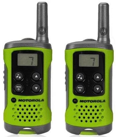 Motorola TLKR T41 vysílačka zelená