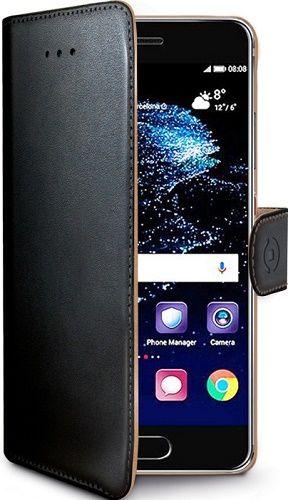 Celly Wally knížkové pouzdro pro Huawei P10, černá