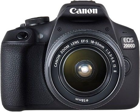Canon EOS 2000D + EF-S 18-55mm IS II
