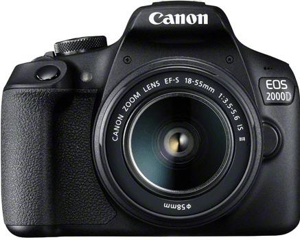 Canon EOS 2000D + EF-S 18-55 IS II + baterie LP-E10