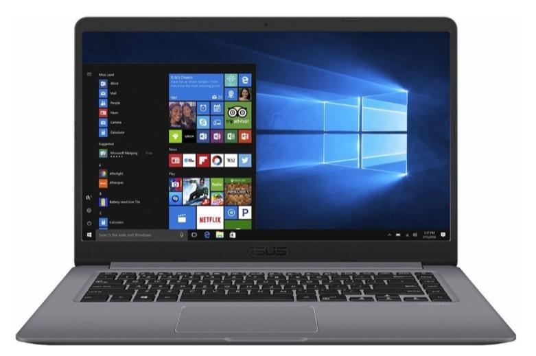 """Asus VivoBook X510UF-BQ165T + dárek Logo brašna na 15,6"""" notebook (černá), eScan Internet Security Suite Antivirový software na 90 dní, Yenkee YMS 002BK bezdrátová myš zdarma"""