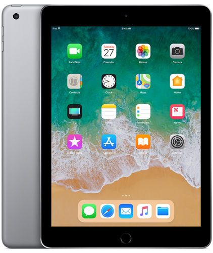 Apple iPad 2018 128GB WiFi vesmírne šedý