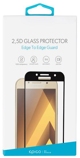 Epico 2,5D tvrzené sklo pro Galaxy A3 2017, černé