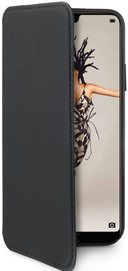 Celly Prestige knížkové pouzdro pro Huawei P20, černá