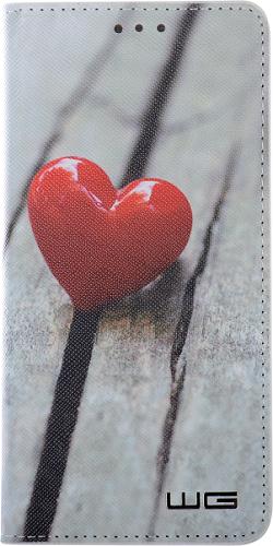 Winner knižkové pouzdro pro Huawei P20 Lite, Srdce