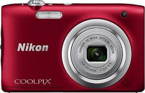 Nikon Coolpix A100 červený