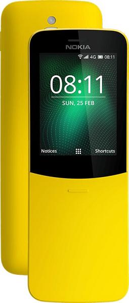 Nokia 8110 Dual SIM žlutý