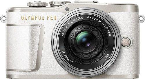 Olympus PEN E-PL9+M.Zuiko 14-42 mm bílá