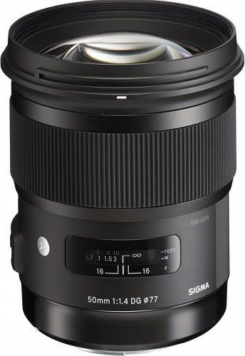Sigma 50mm f/1.4 DG HSM Art Lens pro Nikon