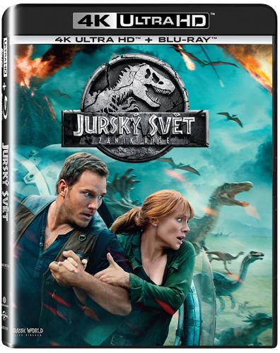 Jurský svět: Zánik říše - Blu-ray + 4K UHD film