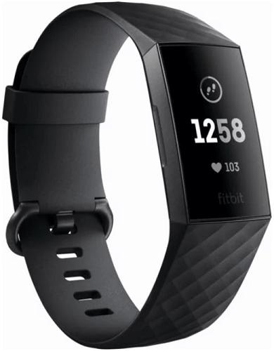 Fitbit Charge 3 černý