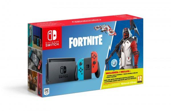 Nintendo Switch Neon + Fortnite