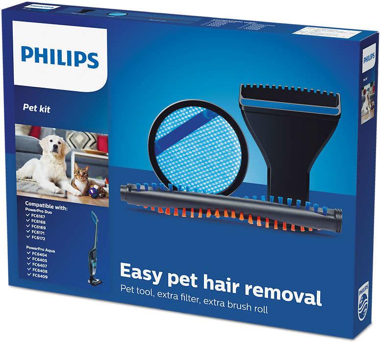 Philips FC6077/01 Easy Pet Hair Removal sada příslušenství ke PowerPro