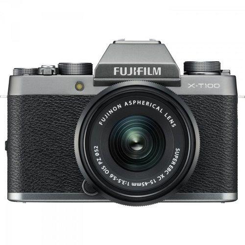 Fujifilm X-T100 šedý + XC 15-45 mm + dárek Bose SoundLink Color II modrý zdarma