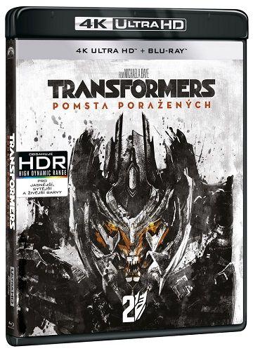 Transformers: Pomsta poražených - Blu-ray + 4K UHD film