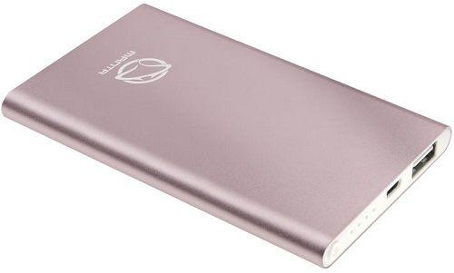 Manta Ruby 4000 powerbanka, růžová