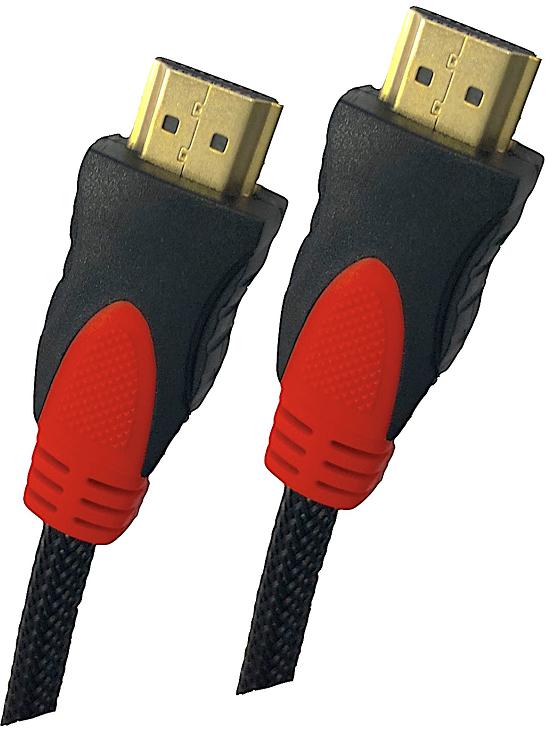 Carneo High Speed + Ethernet PremiumCord HDMI kabel 3 m černý